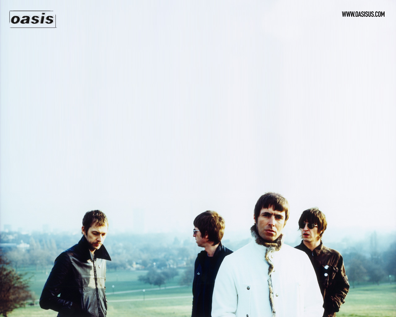 Oasis Wallpaper - Oasis Band 2005 , HD Wallpaper & Backgrounds