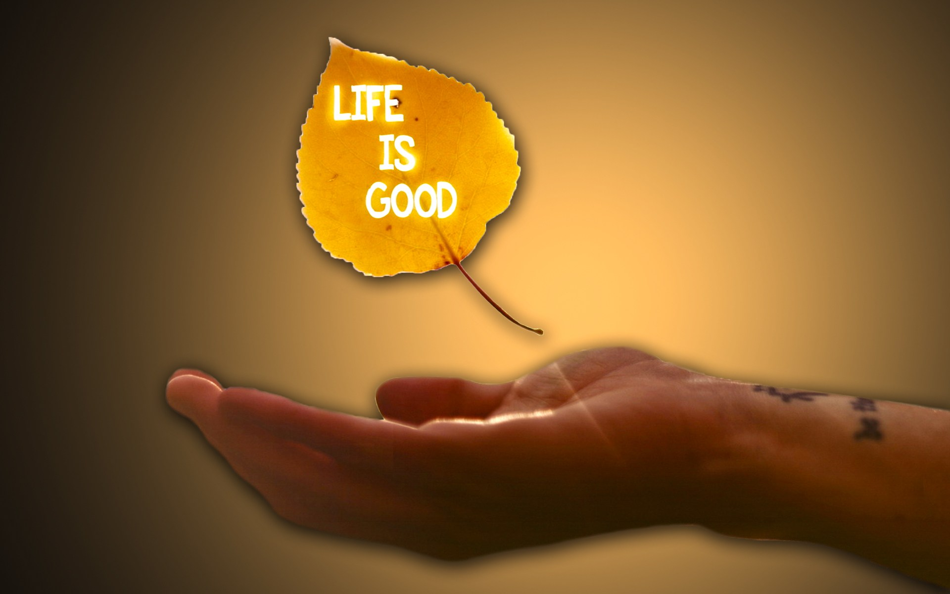 Life Is Good All Is Well Image Beautiful Hd Wallpaper