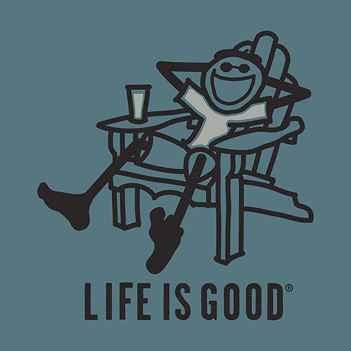 Life Is Good Clipart Adirondack Chair Life Is Good Beer