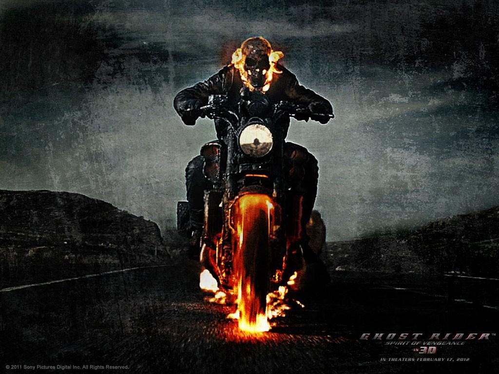 10 new ghost rider spirit of vengeance wallpaper 3d ghost rider.