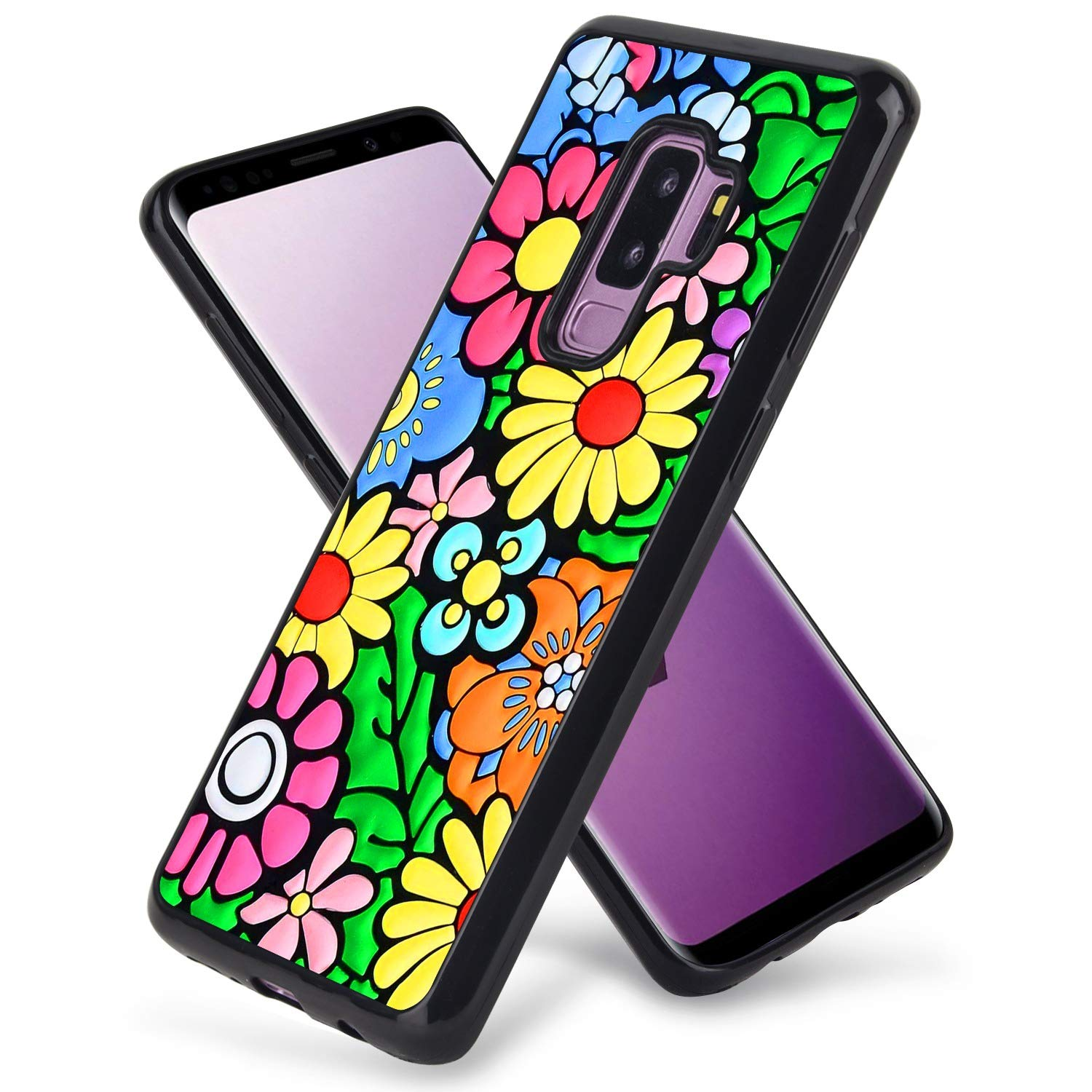 Samsung Galaxy S9 Plus Colorful Flowers Design Phone Iphone 1143145 Hd Wallpaper Backgrounds Download