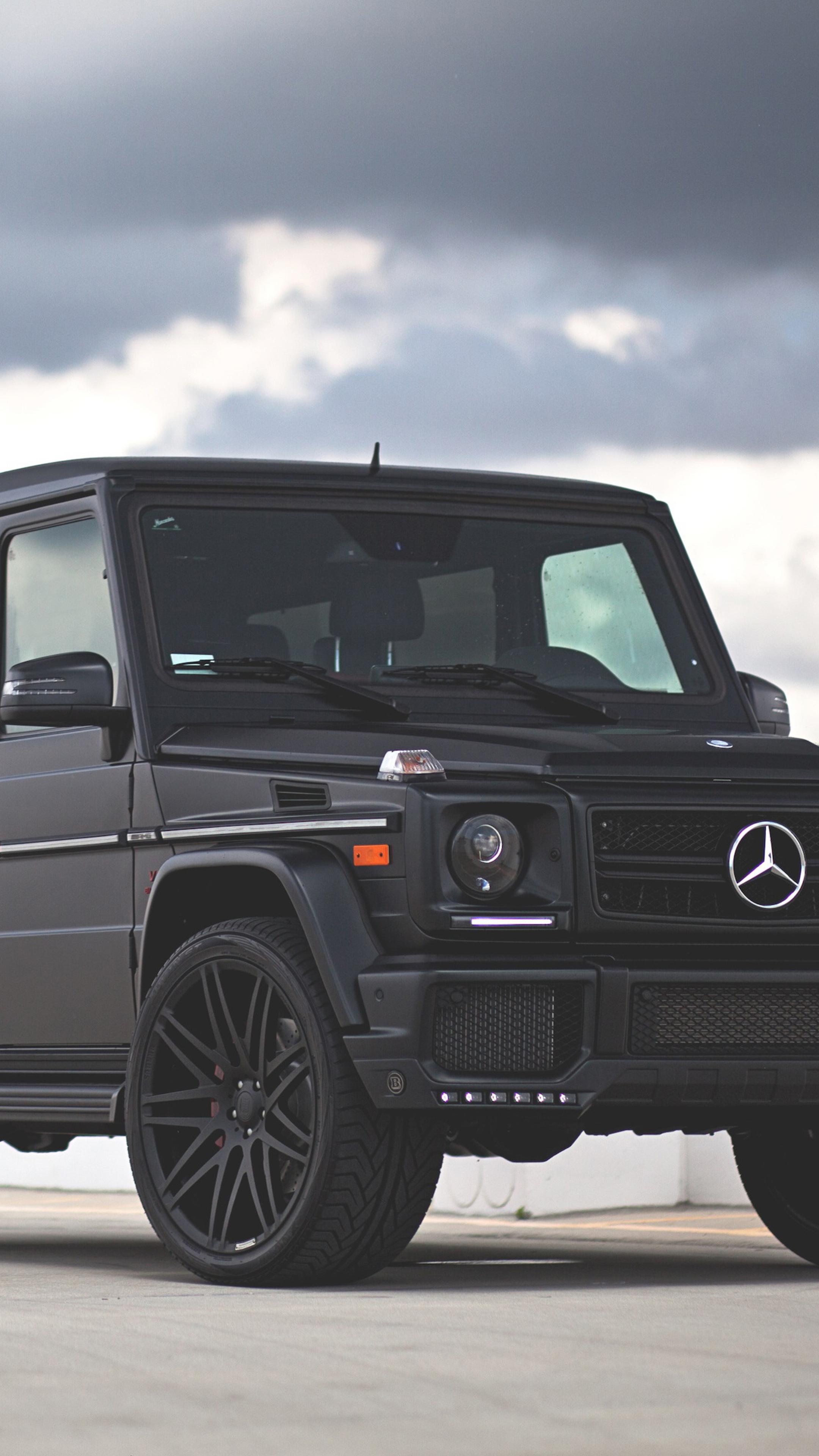 Mercedes Benz G Class G63 Black 4k Mercedes G Class