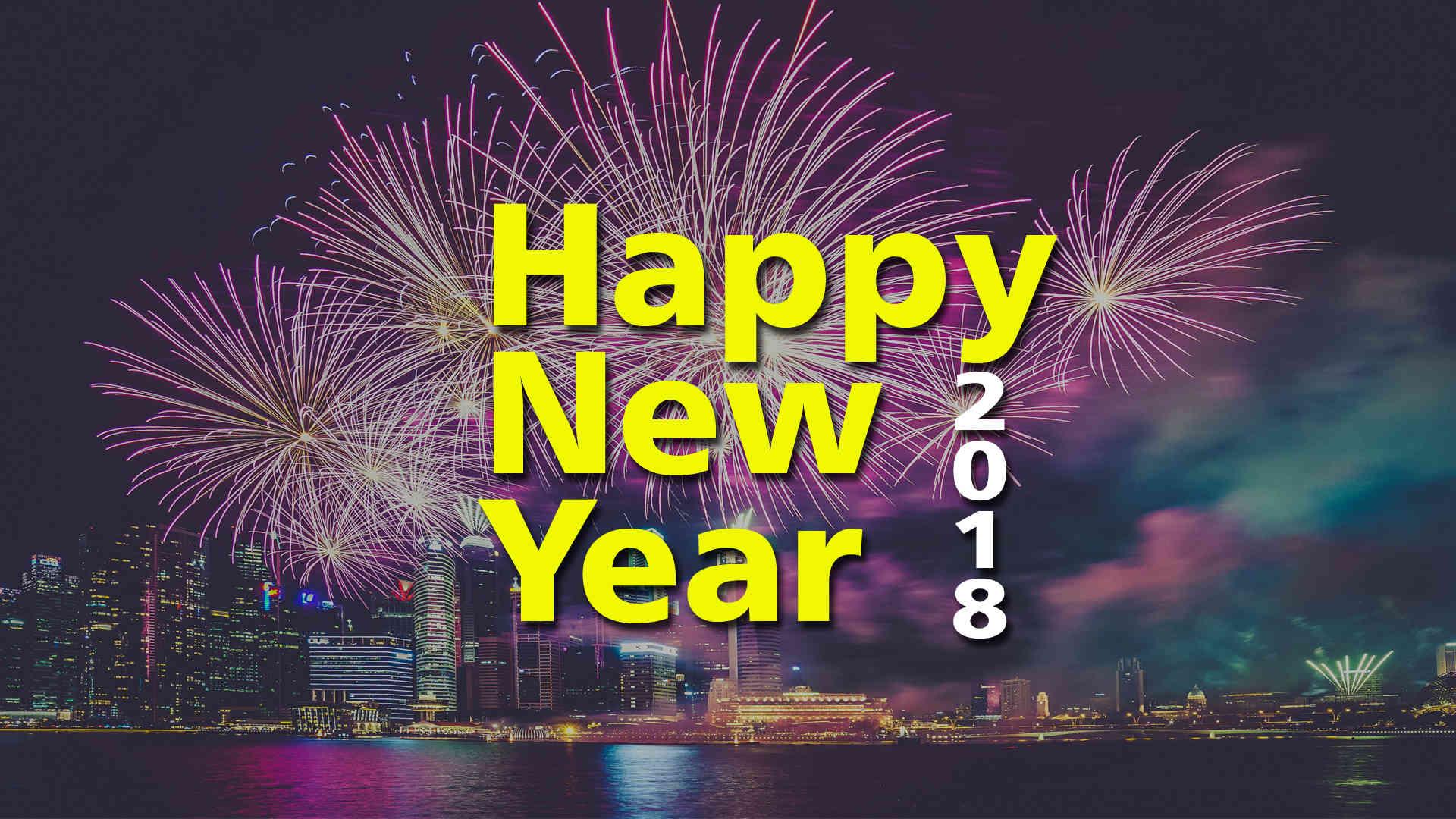 Happy New Year Ke Wallpaper - Fireworks , HD Wallpaper & Backgrounds