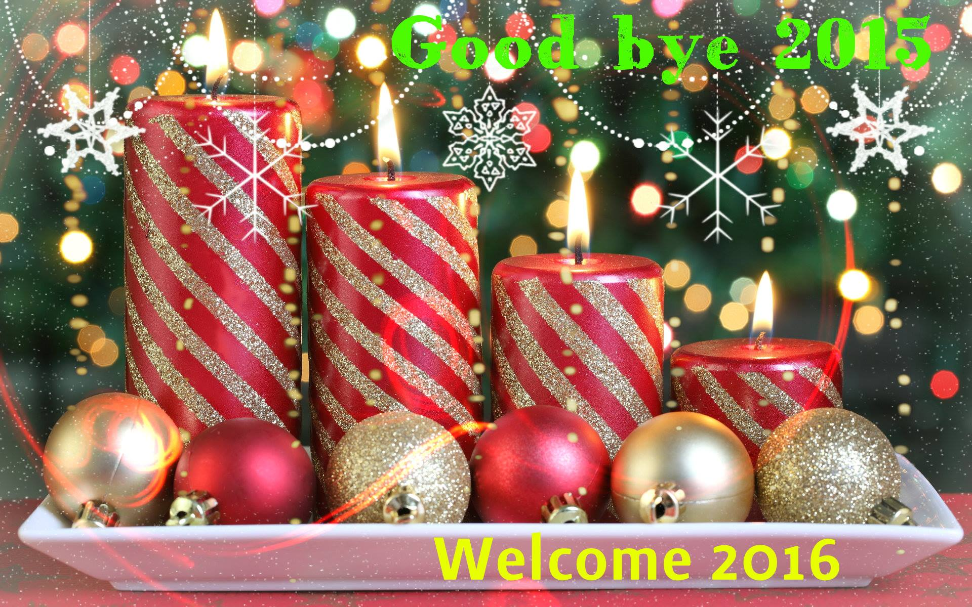 New Year Ke Wallpaper - Merry Christmas N Happy New Years , HD Wallpaper & Backgrounds