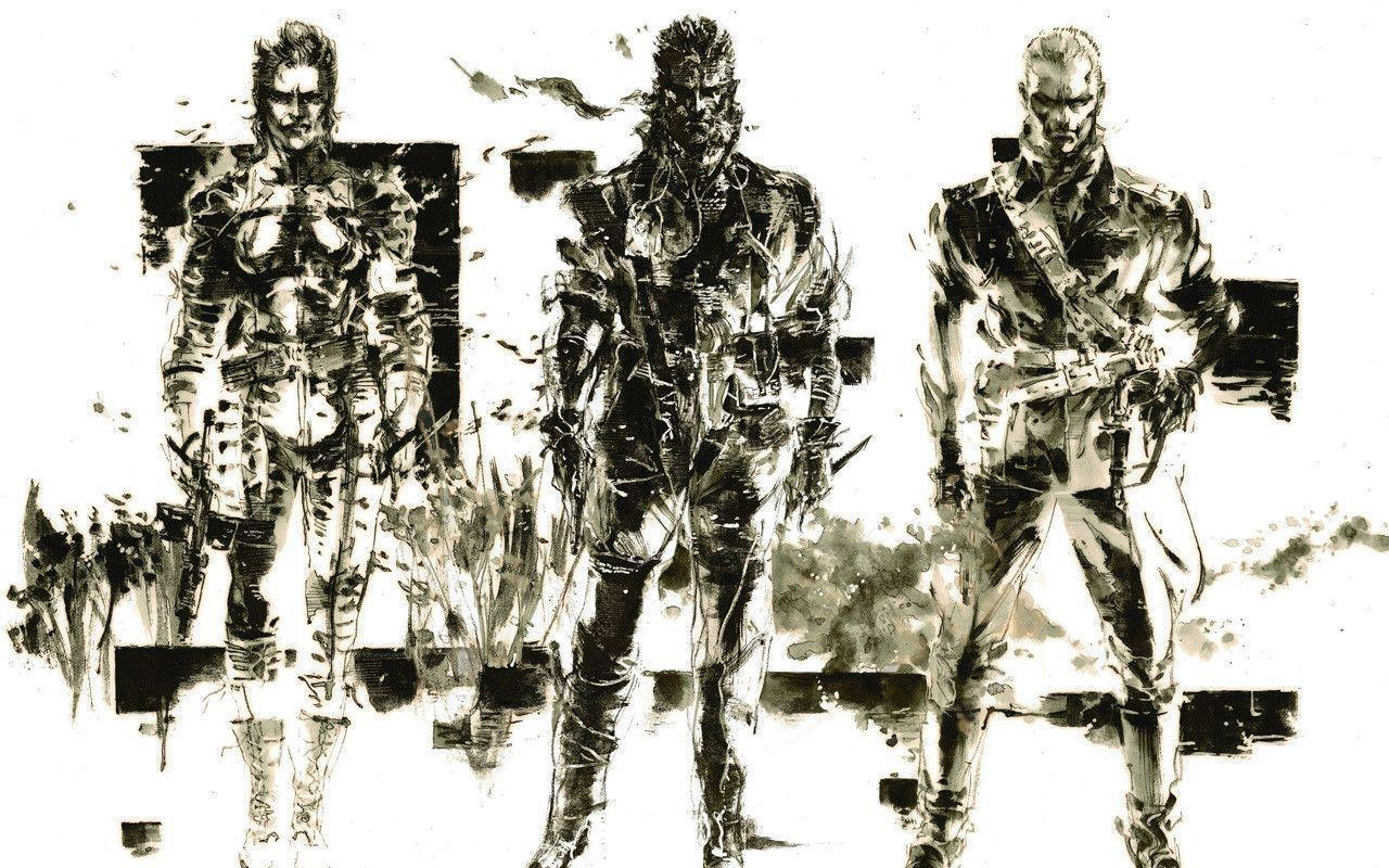 Metal Gear Solid 4 Wallpaper Yoji Shinkawa Concept Art 1144519