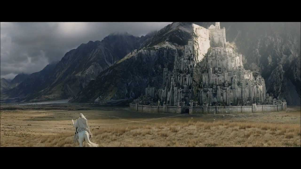 Minas Tirith 1145429 Hd Wallpaper Backgrounds Download