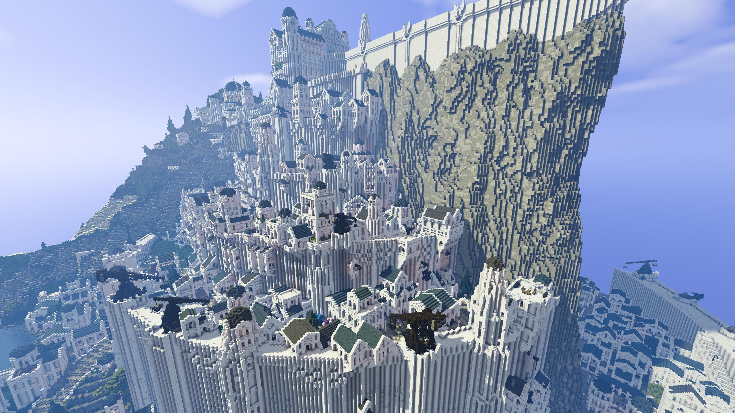 Minas Tirith Full Shot Minas Tirith Full Hd 1145444