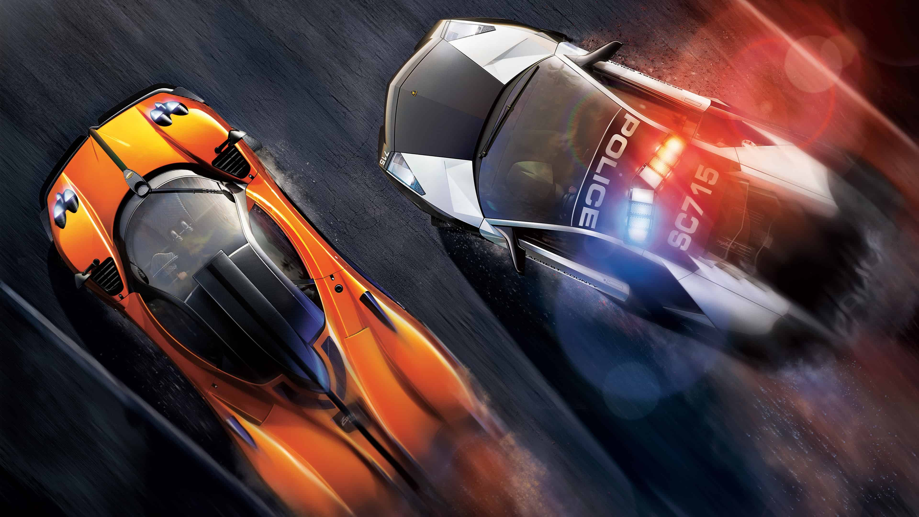 Need For Speed Hot Pursuit Police Chase Uhd 4k Wallpaper