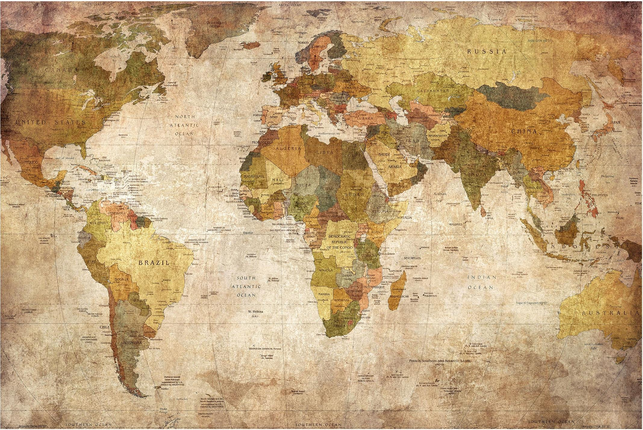 Bilderwelten Weltkarte Actual Product Image Antique Old Map Of The World 1148357 Hd Wallpaper Backgrounds Download