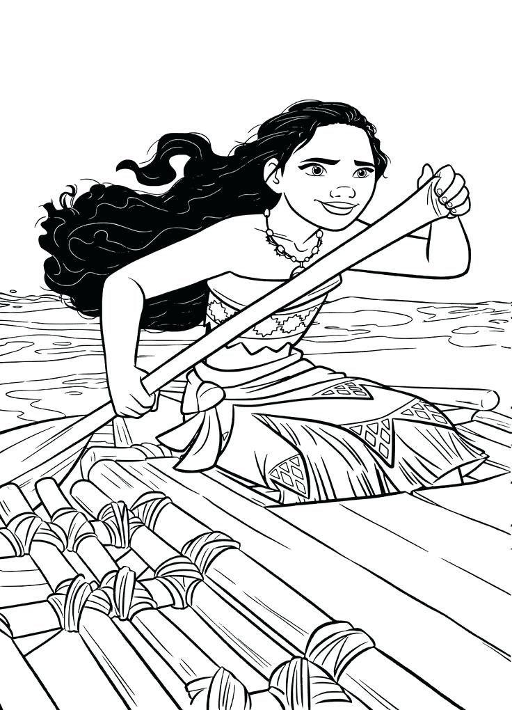 Baby Moana Colouring Pages Coloring Awesome Best Images - Moana Only Coloring Pages , HD Wallpaper & Backgrounds