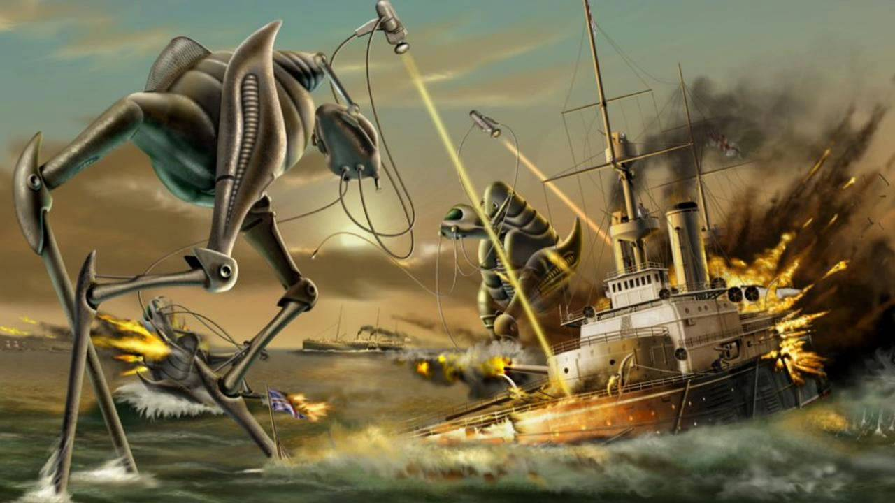The War Of The Worlds By H War Of The Worlds Wells 1151120