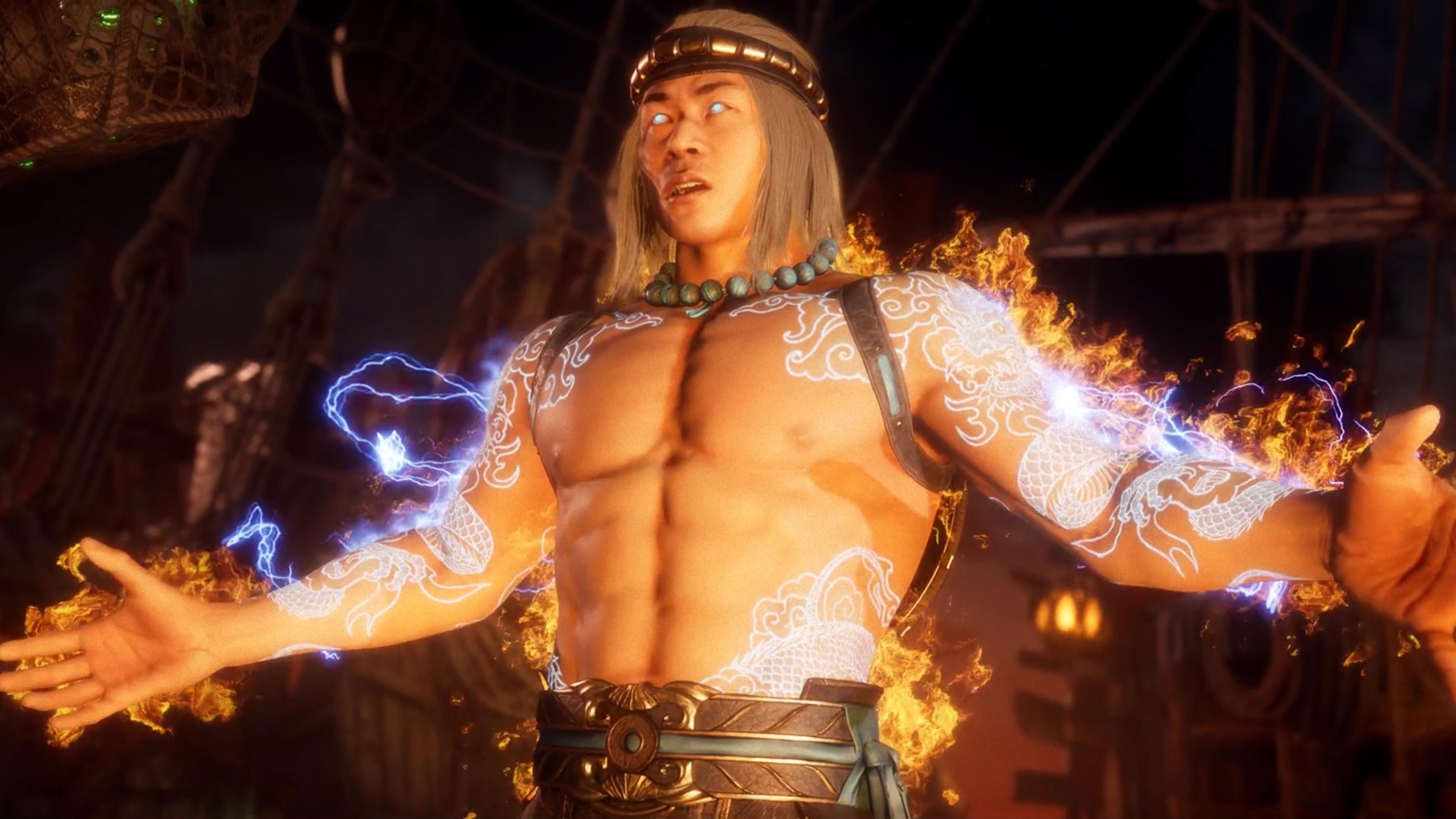 4k Mortal Kombat 11 Fire God Liu Kang 1154179 Hd Wallpaper