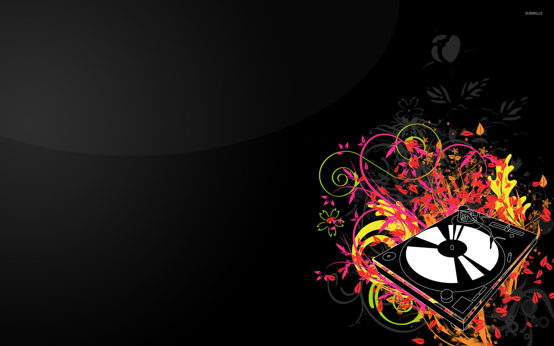 Related Wallpapers From Cool Turntable Wallpaper - Full Hd Dj Logo , HD Wallpaper & Backgrounds