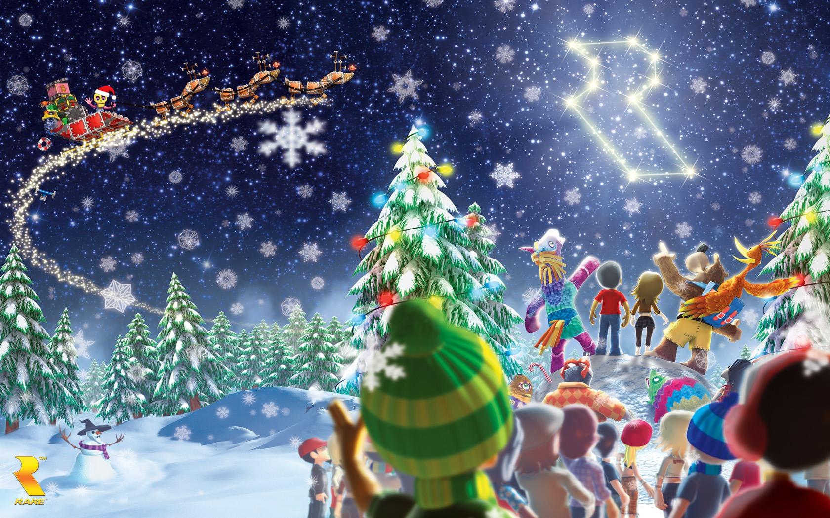 Gaming Christmas Wallpaper Banjo Kazooie Christmas Fortnite Wallpapers For Christmas 1159167 Hd Wallpaper Backgrounds Download