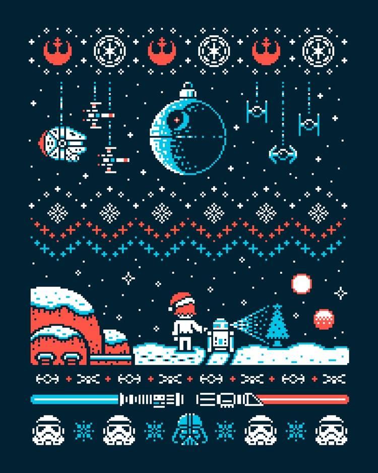 Best Christmas Wallpaper Ever Star Wars Christmas Sweater 1163479 Hd Wallpaper Backgrounds Download