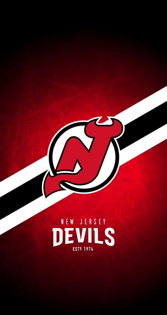 New Jersey Devils Iphone 6 7 8 Lock Screen Wallpaper New York