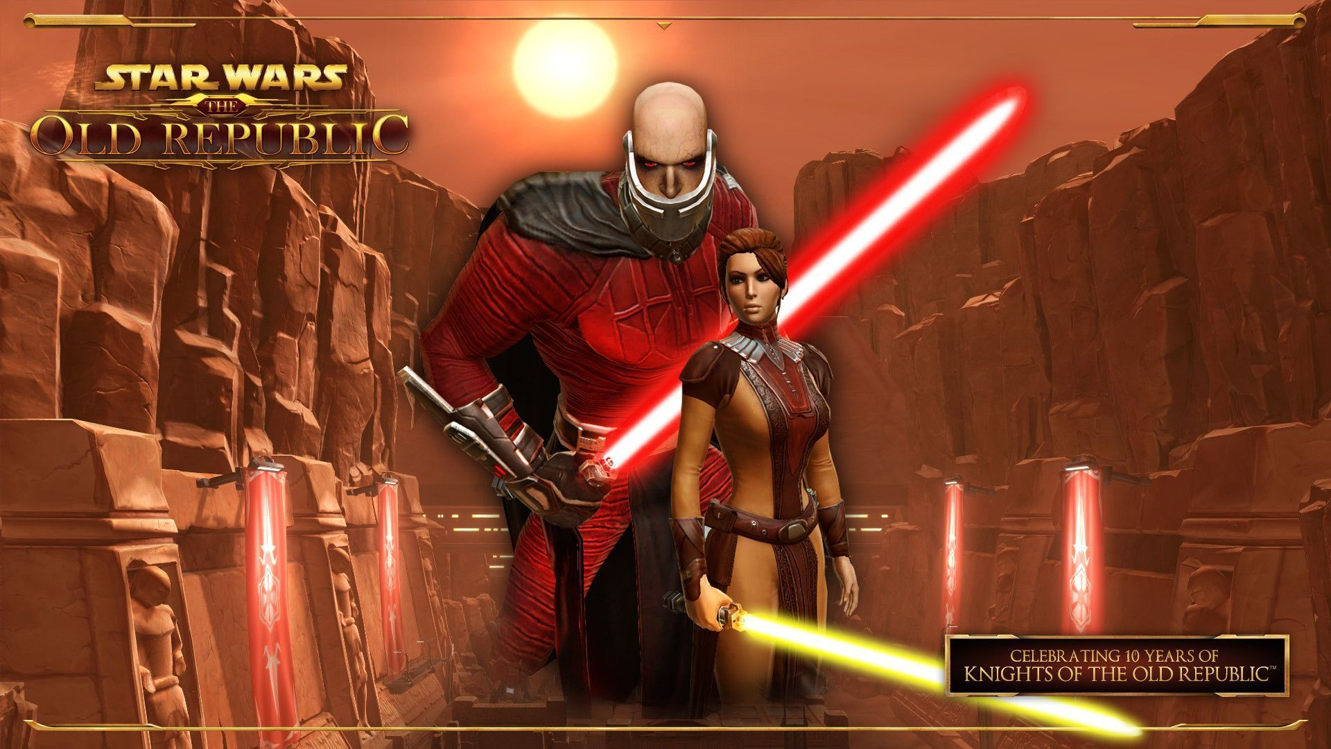 Star Wars The Old Republic , HD Wallpaper & Backgrounds