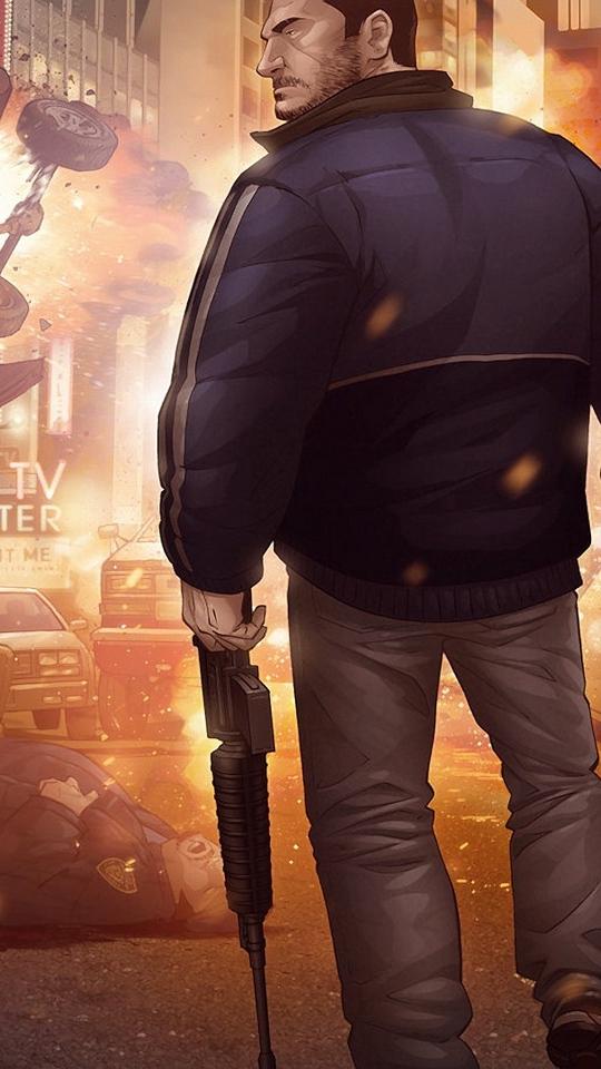Wallpaper Gta Grand Theft Auto Picture Fan Art Gta Iv