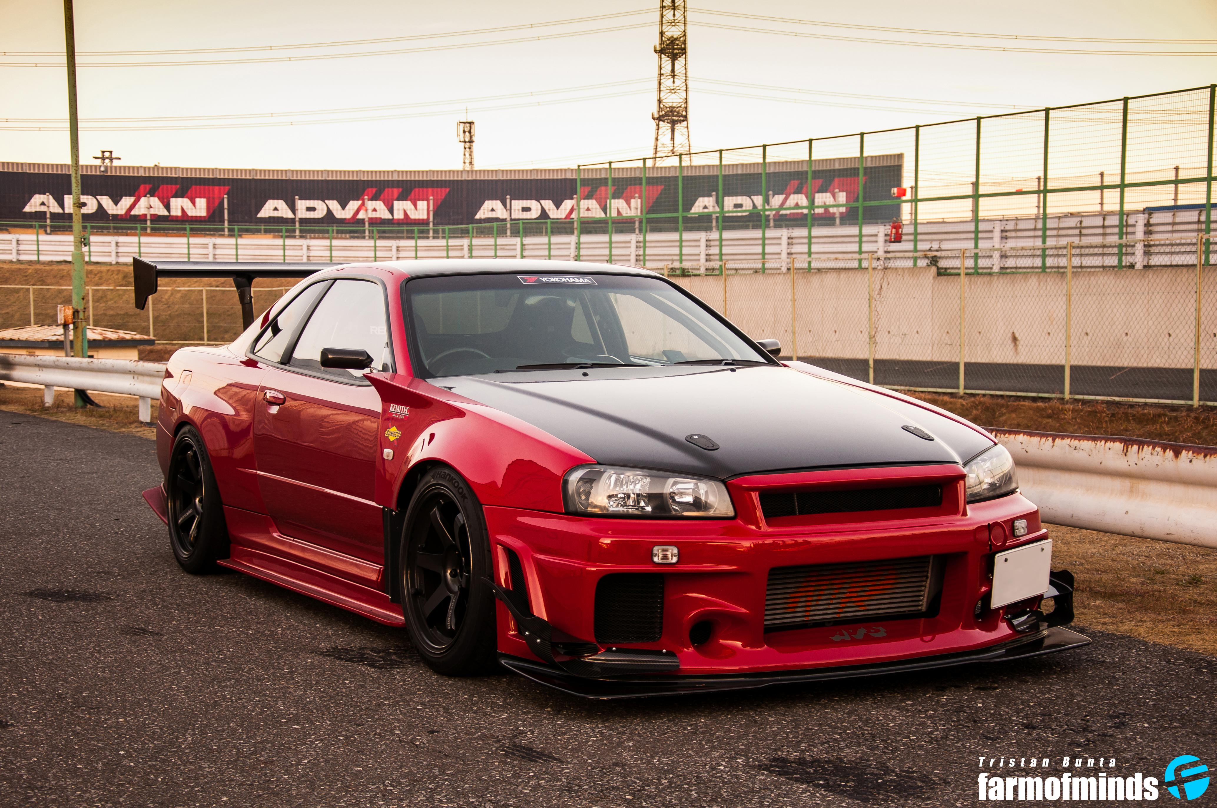 Nissan Skyline Gtr R34 Wallpaper Nissan Skyline Gtr R34 Red