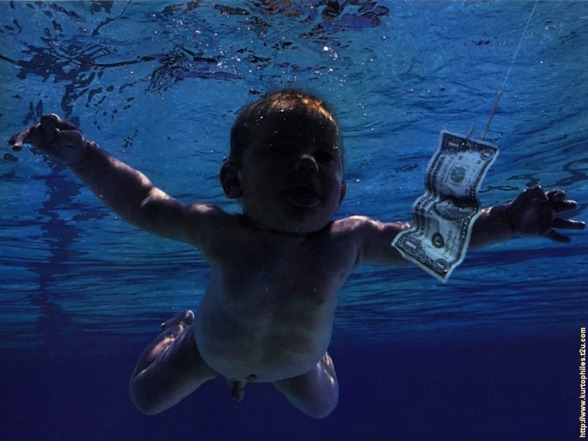 Nirvana Nirvana Nevermind 1167012 Hd Wallpaper