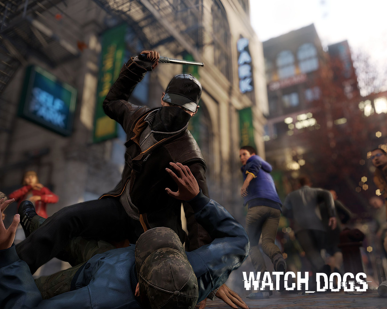 Watch Dogs Wallpapers, Nice Hdq Live Watch Dogs Pictures - Watch Dogs Baton , HD Wallpaper & Backgrounds