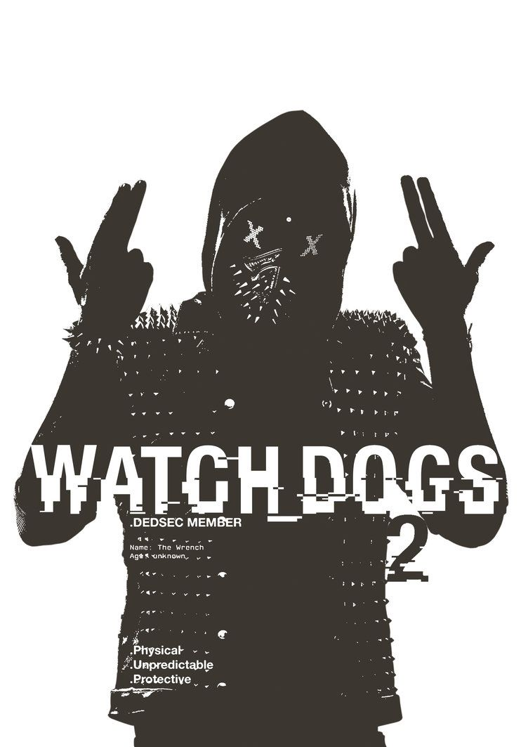 Wrench Watch Dogs 2, Watch Dogs 1, Dog Tattoos, - Hd Wallpaper Of Watch Dogs 2 , HD Wallpaper & Backgrounds