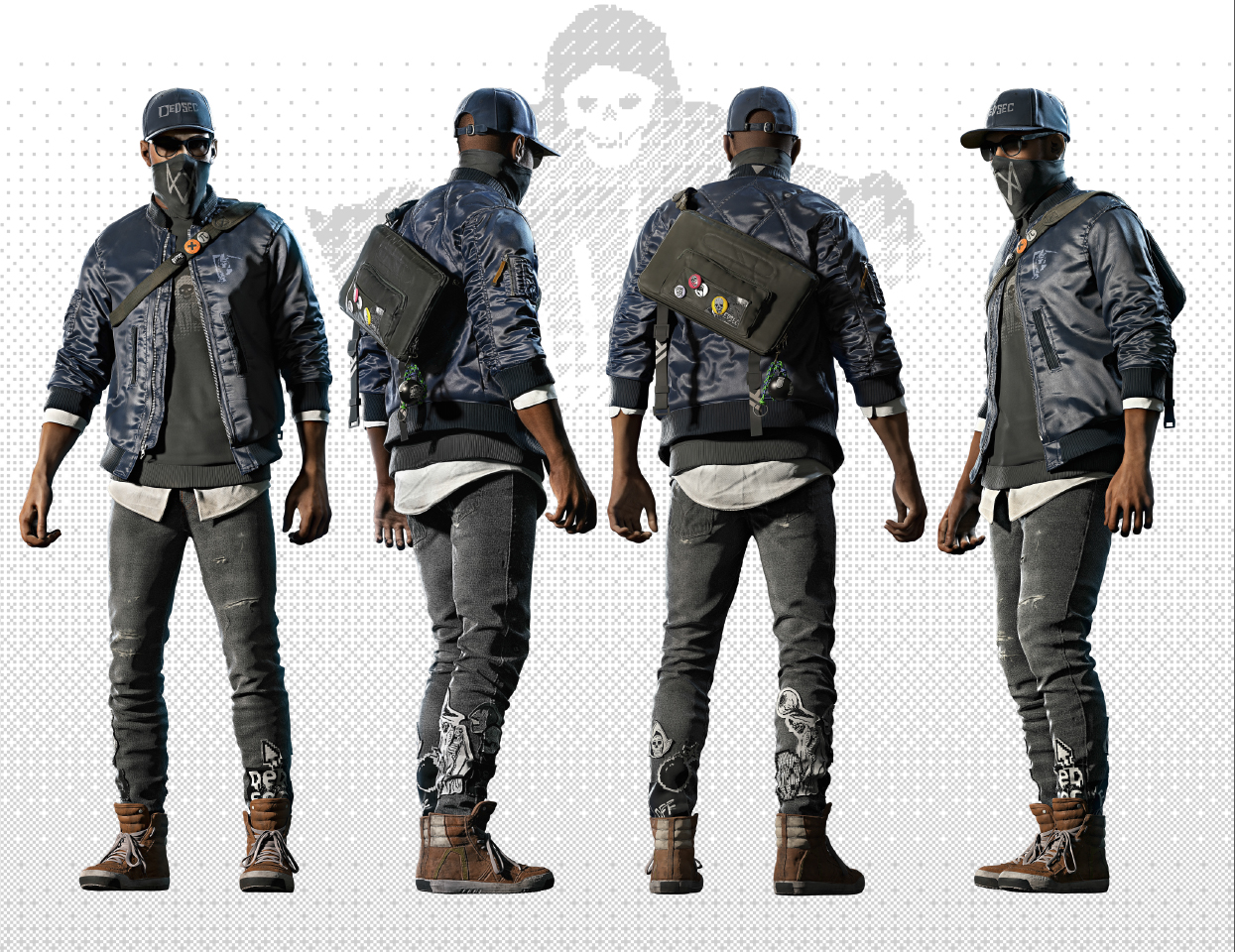 Watch Dogs 2watchdogs - Watch Dogs 2 Outfit , HD Wallpaper & Backgrounds
