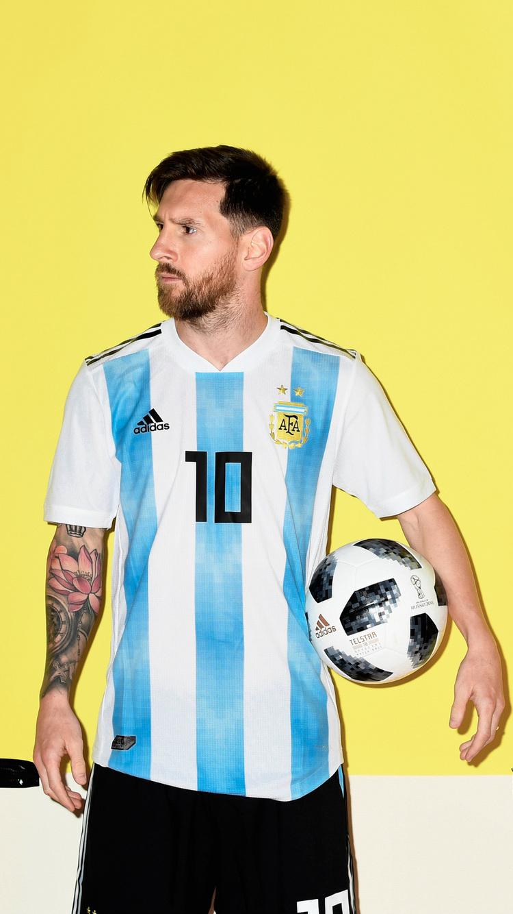 Lionel Messi Argentina Portrait 2018 - Lionel Messi Hd Wallpaper Argentina , HD Wallpaper & Backgrounds
