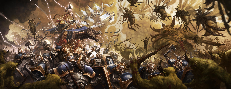 Warhammer Age Of Sigmar Hd Wallpaper Age Of Sigmar War 1177741