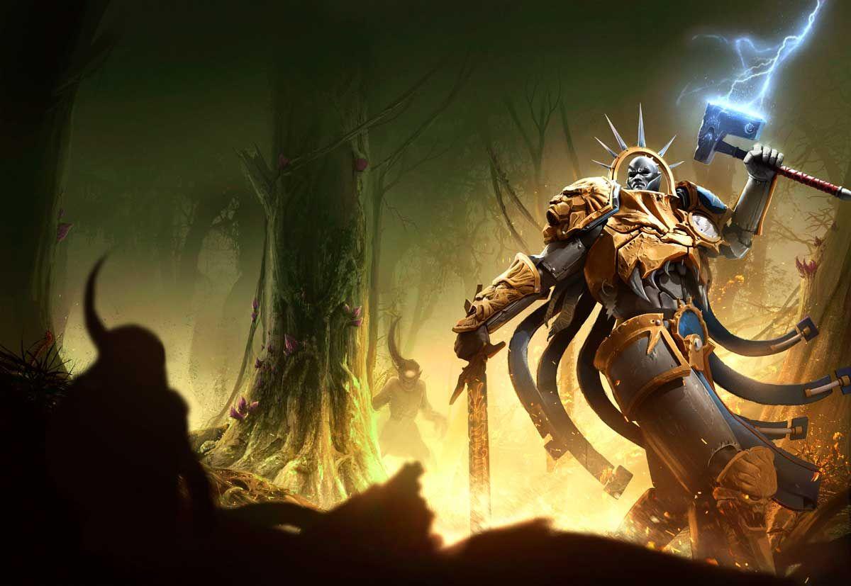 Warhammer Age Of Sigmar Artowork Age Of Sigmar Plague Garden