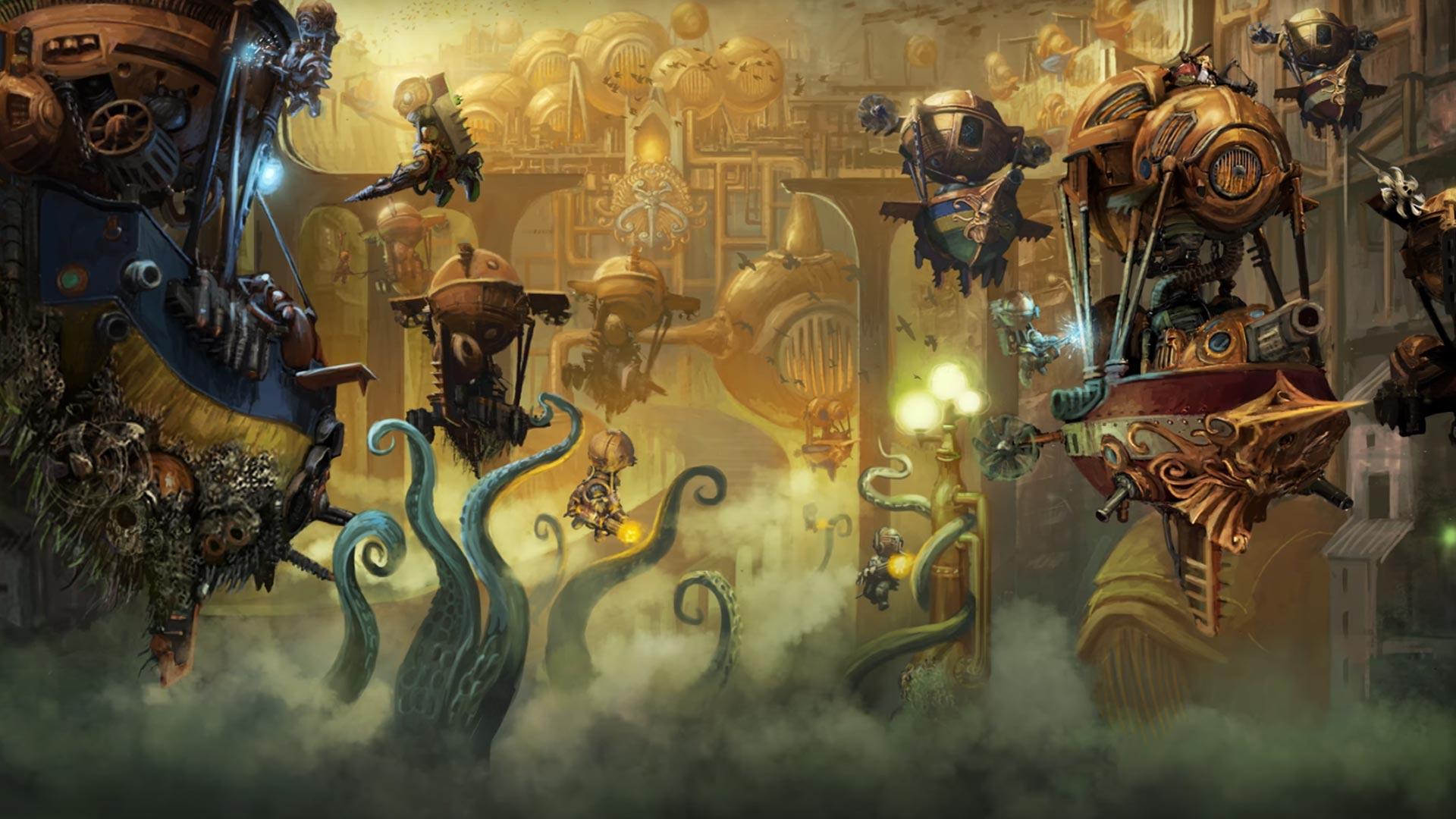 Warhammer Aos Kharadron Overlord 1177882 Hd Wallpaper