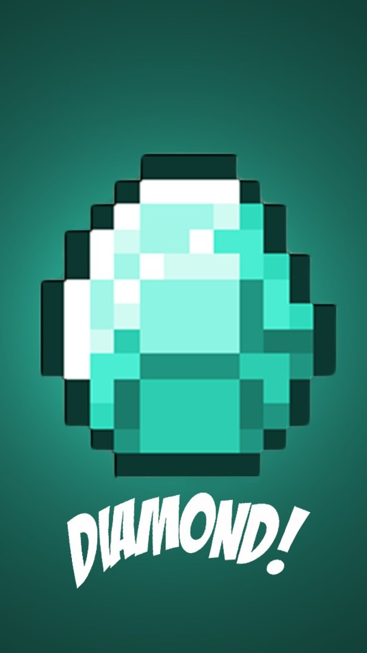 7501334 Diamond Minecraft Iphone 6 Iphone 6s Iphone 2048