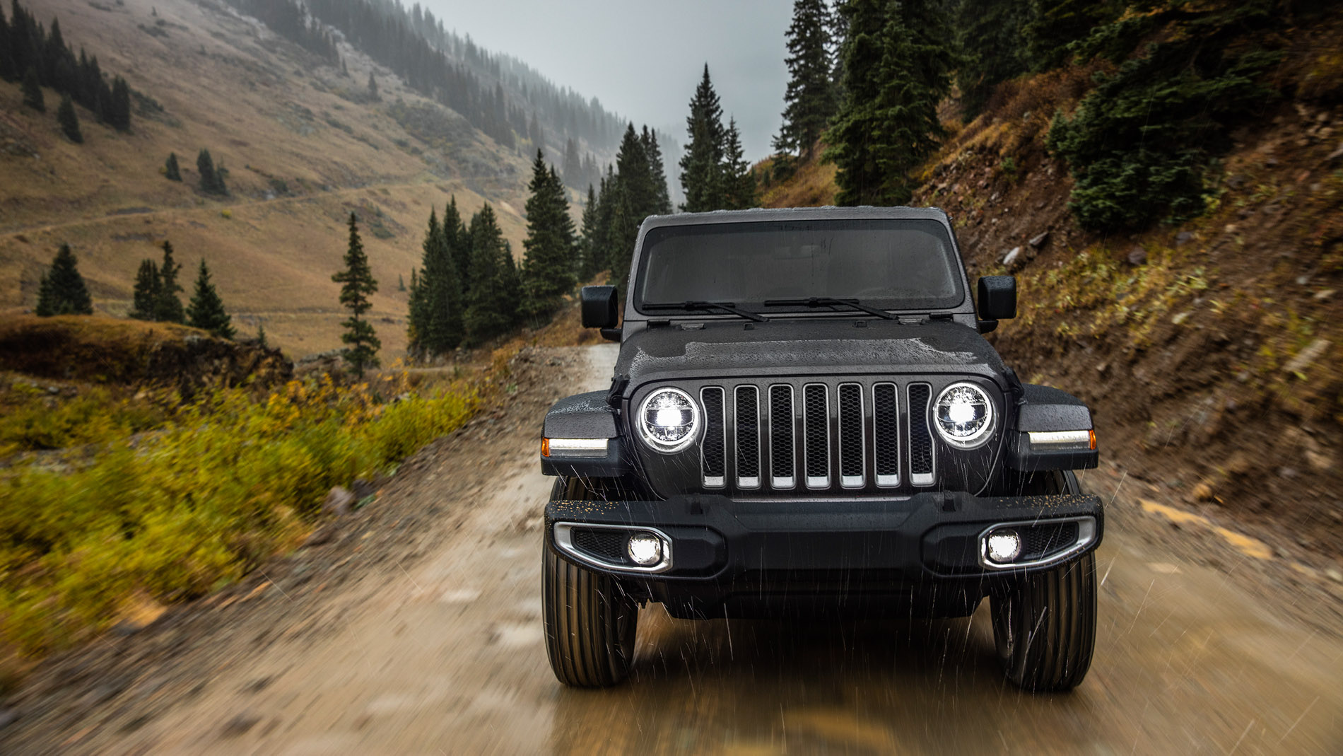Wallpaper Mobil Jeep 2019 Jeep Wrangler Unlimited Rubicon 1179426 Hd Wallpaper Backgrounds Download