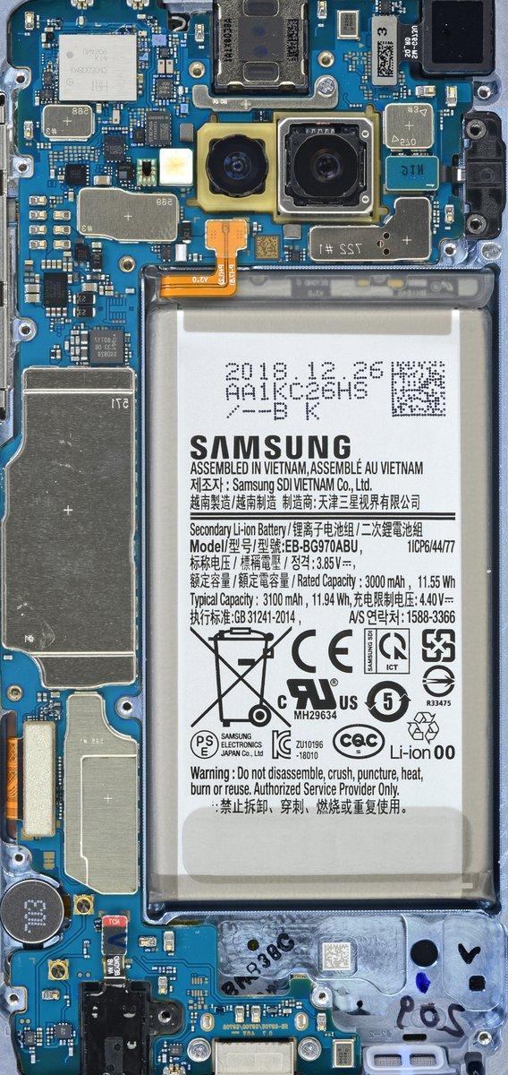 Samsung Galaxy S10 S10e Teardown Wallpapers Samsung Galaxy S10 Teardown 1179656 Hd Wallpaper Backgrounds Download