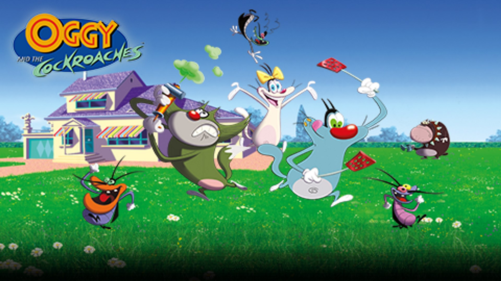 Oggy And The Cockroaches Hd (#1180805) - HD Wallpaper ...