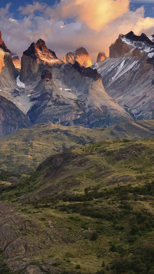 Torres Del Paine, 4k, Hd Wallpaper, National Park, - Torres Del Paine National Park , HD Wallpaper & Backgrounds