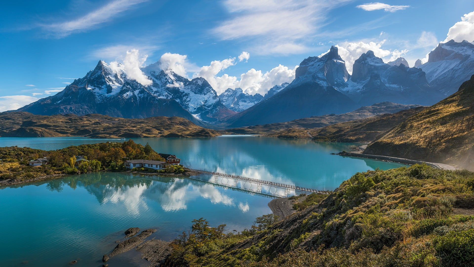 Patagonia Andes Mountains 1182937 Hd Wallpaper