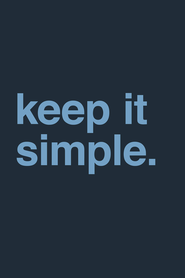 Keep It Simple Wallpaper - Keep It Simple , HD Wallpaper & Backgrounds