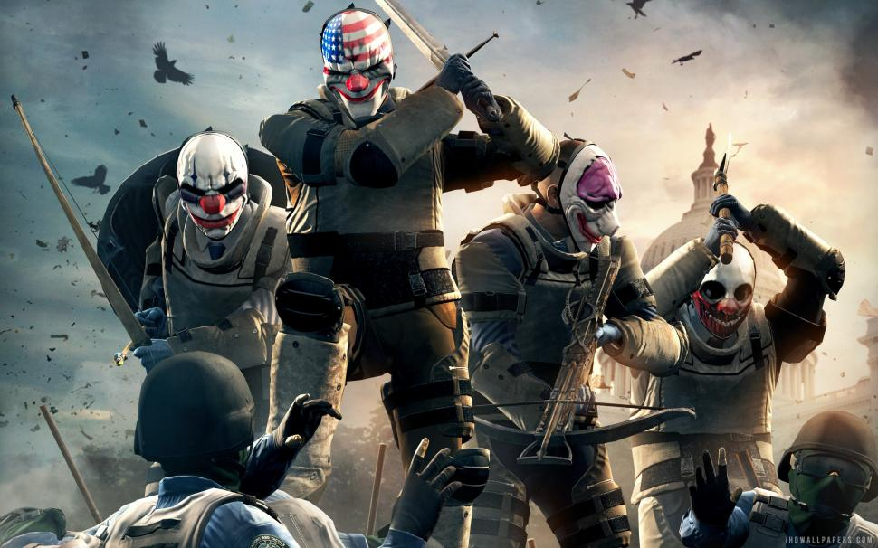 Payday 2 Gage Chivalry Pack Wallpaper Payday Chivalry