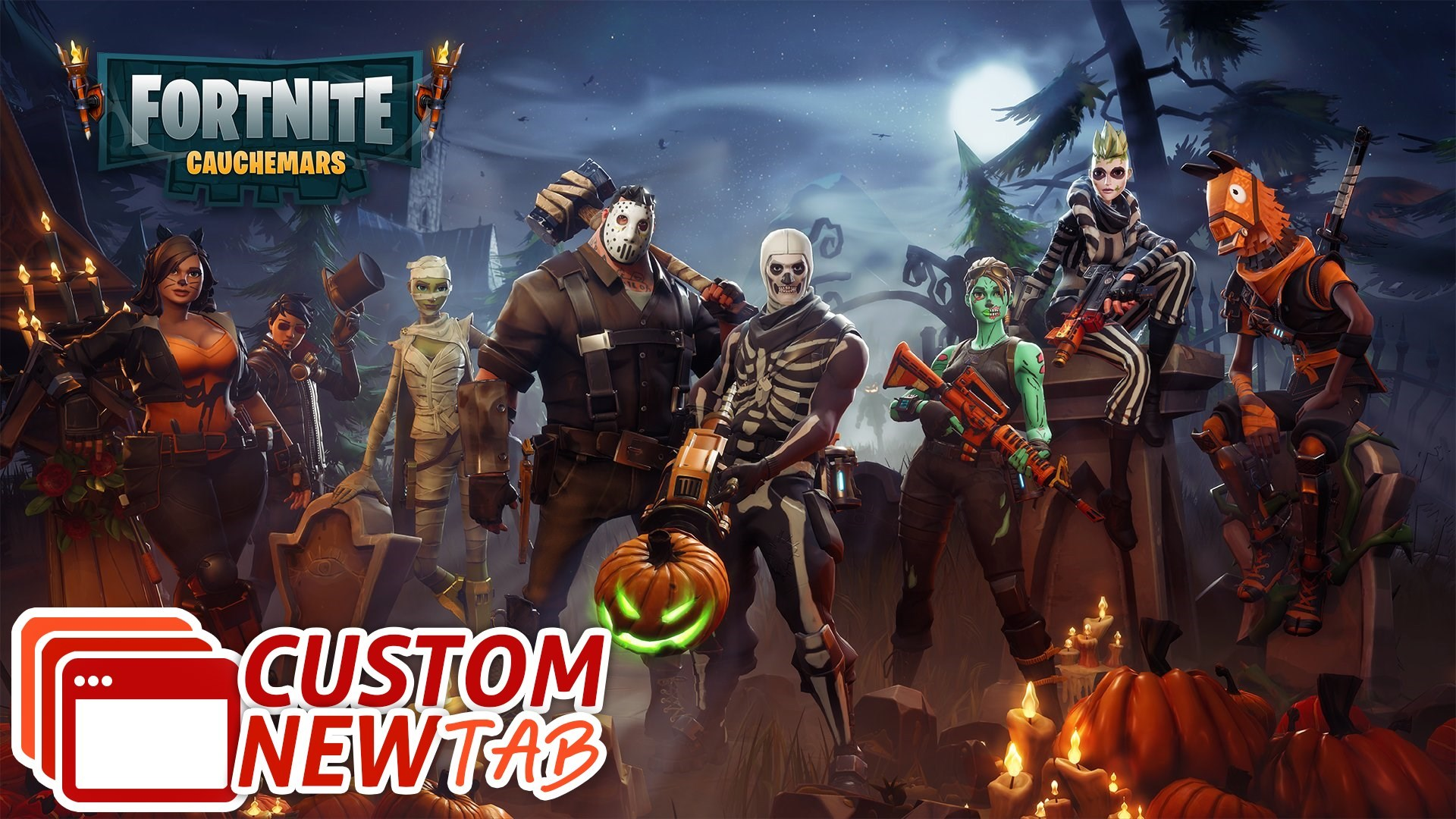 Fortnite Battle Royale Wallpaper Fortnite Save The World Halloween Heroes 1185443 Hd Wallpaper Backgrounds Download