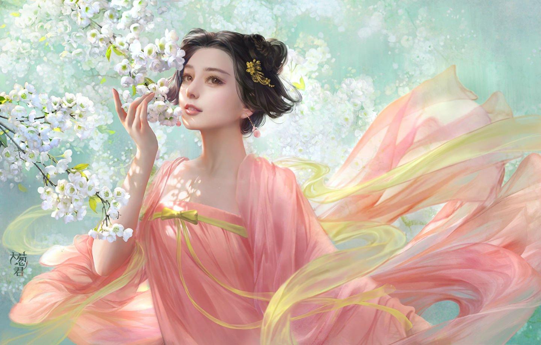 Ilia Cothey, Fan Bingbing, - Fan Bingbing Fan Art , HD Wallpaper & Backgrounds