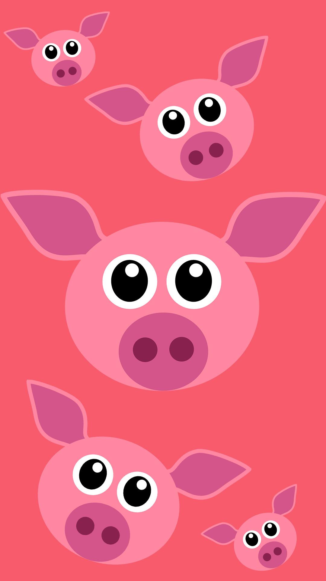 Cute Pig Lg G2 Wallpapers - Cartoon , HD Wallpaper & Backgrounds