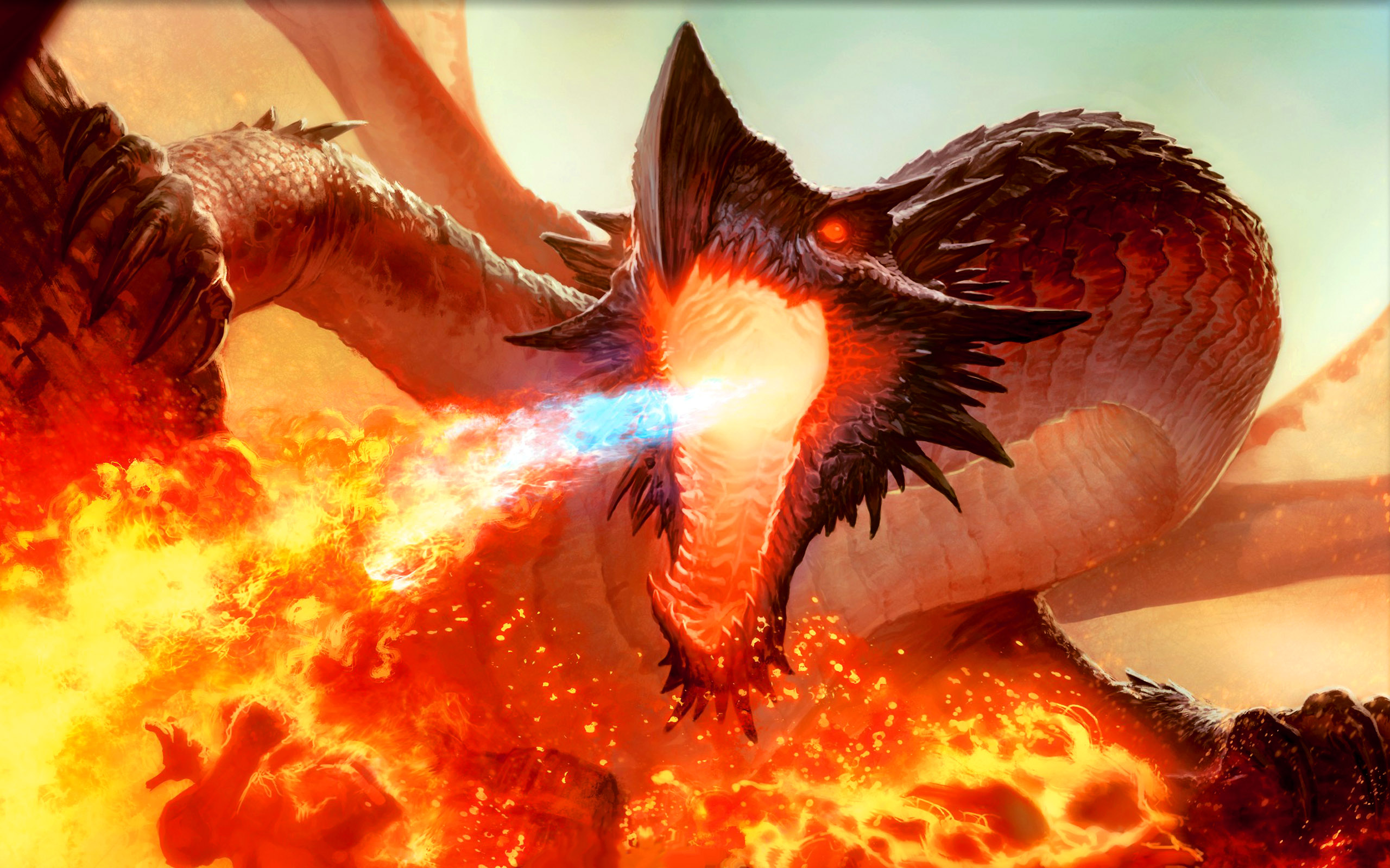 Mtg Images Free Download Magic The Gathering Dragon Art