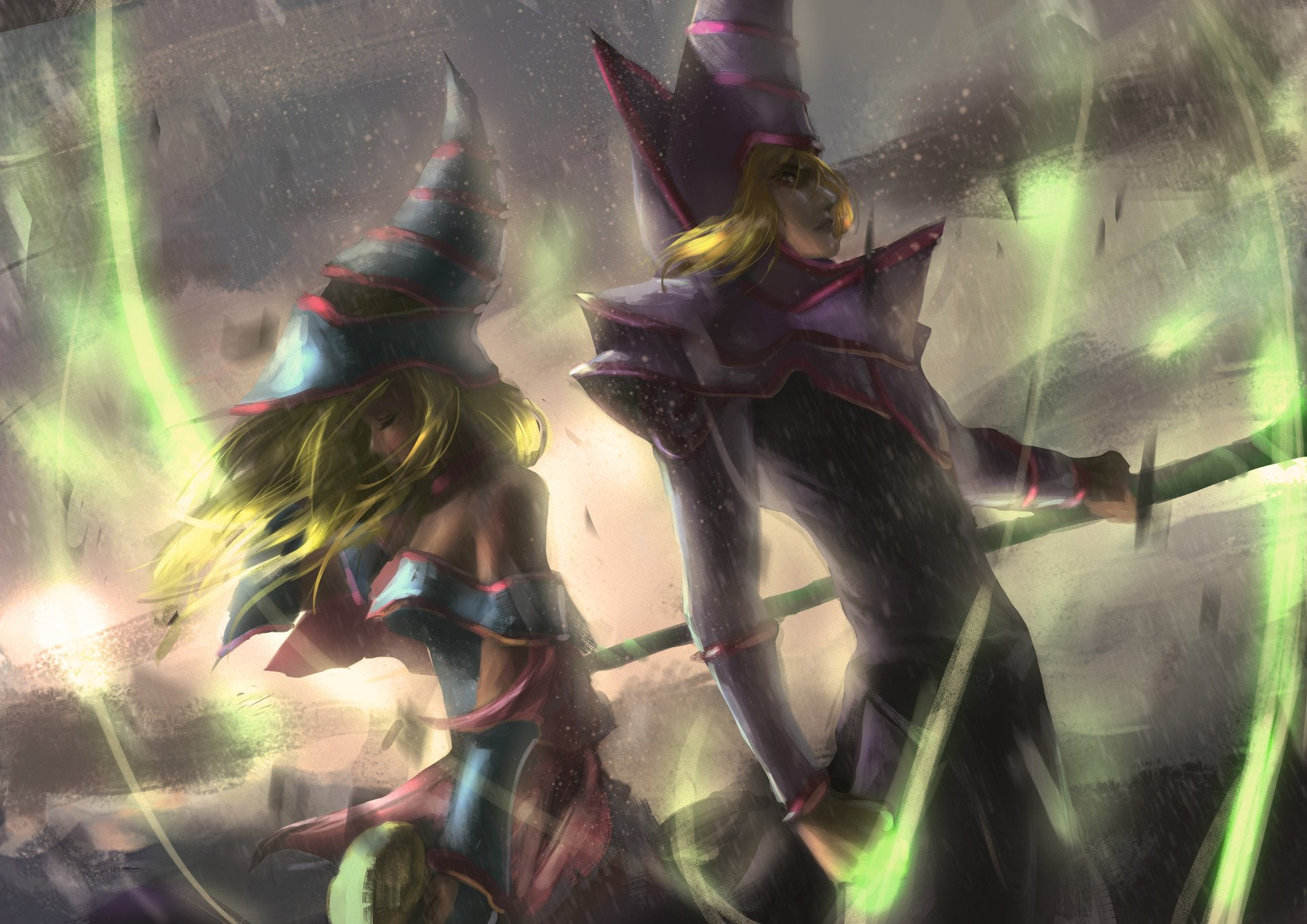 Fantasy Art Magic Yugioh Dark Magician Girl Wallpapers