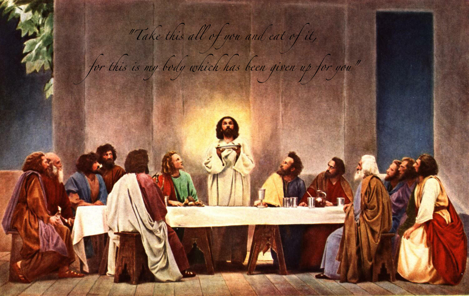 Last Supper Wallpaper Jesus Praying At The Last Supper 1190686 Hd Wallpaper Backgrounds Download