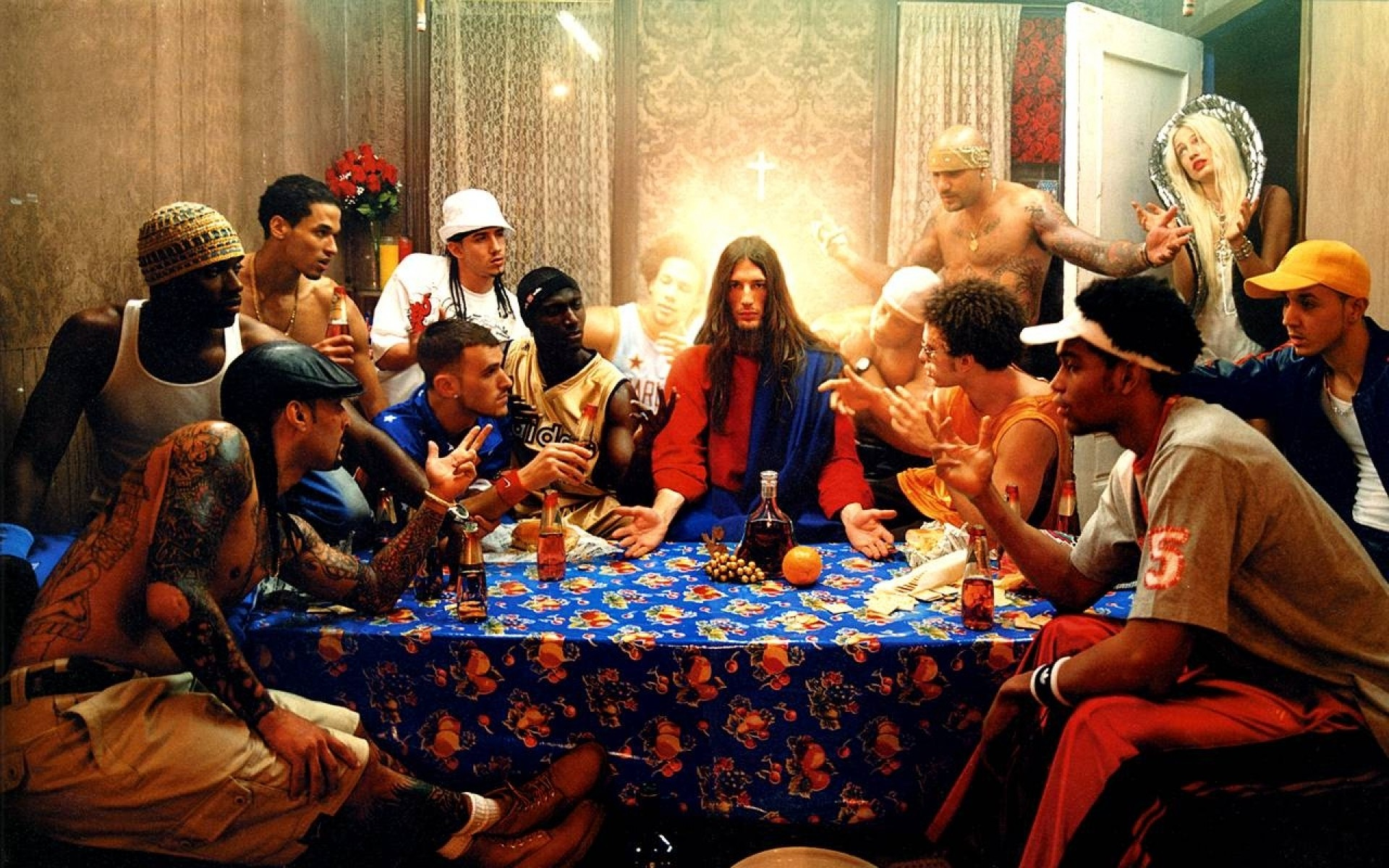 119 1190704 star wars last supper wallpaper david lachapelle