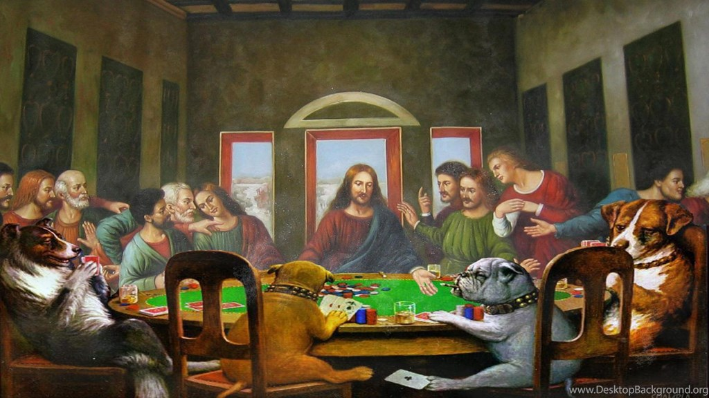 Version Of The Last Supper 1190743 Hd Wallpaper Backgrounds Download