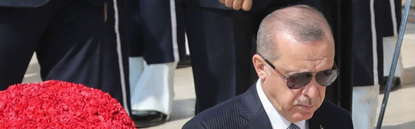 Turkish President Recep Tayyip Erdogan Visits The Tomb