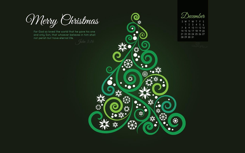 December 2014 - John 3 - - Religious God So Loved The World Merry Christmas Message , HD Wallpaper & Backgrounds