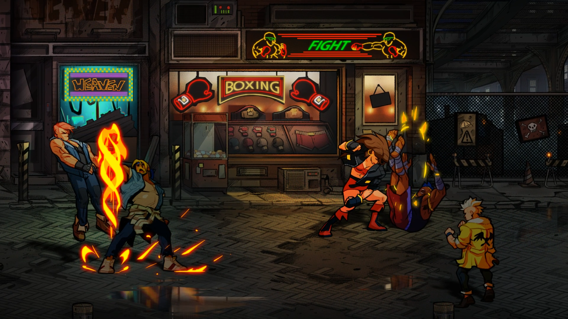 Streetsofrage4-0007 - Streets Of Rage 4 Ign , HD Wallpaper & Backgrounds